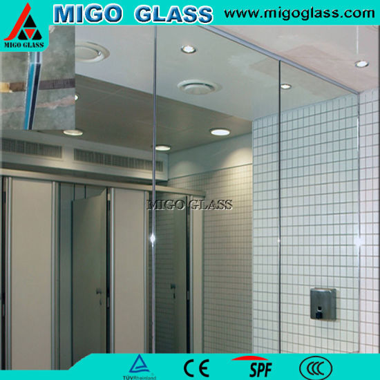 2 3 4 5 6mm Clear Aluminium Mirror Sheet With Single Or Double Coated