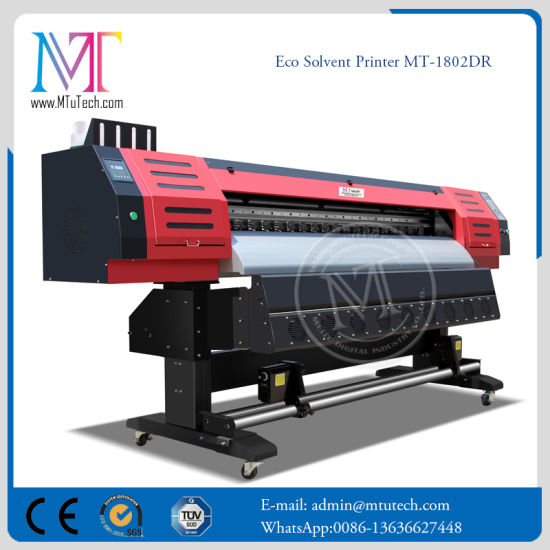 1.8m Dx7 Double Side Eco Solvent Printer pictures & photos