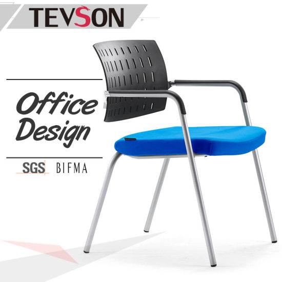 china modern office furniture low back plastic meeting chair for