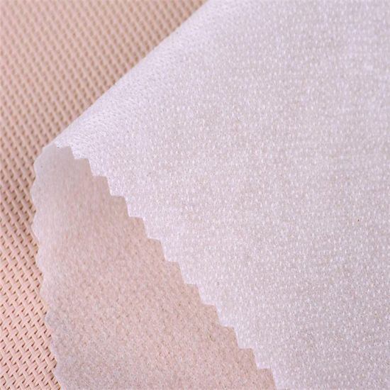 Middle Weight 40GSM Non-Woven Fusible Interlining for Garments