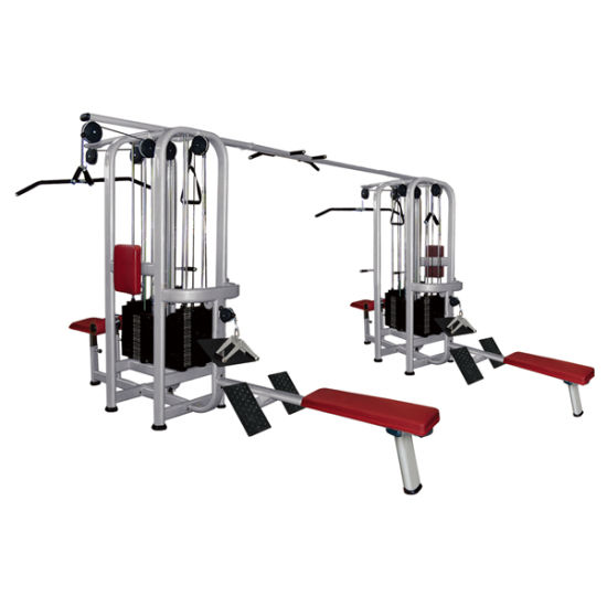 China gym equipment multi gym 8 station hammer strength fitness