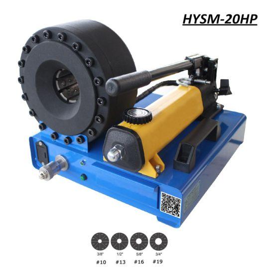 Hysw-20HP Portable/ Hand Pump / Manual Hydraulic Hose Crimper