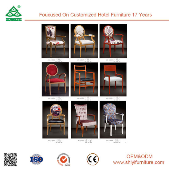 Hotel Furniture Antique High Back Dining Chair pictures & photos