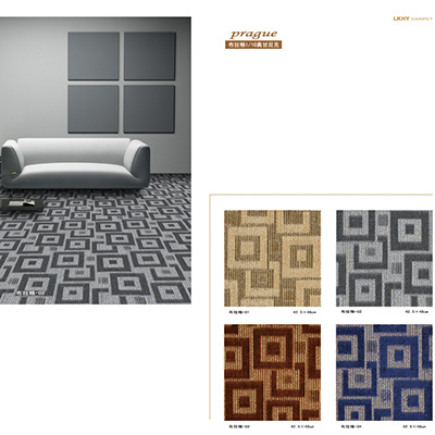 Pattern 1/10 Organic Polypropylene Jacquard Carpet pictures & photos