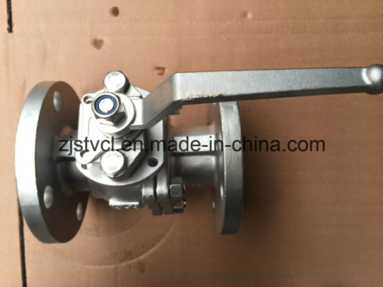 Floating Ball Valve with ISO Mount Pad pictures & photos