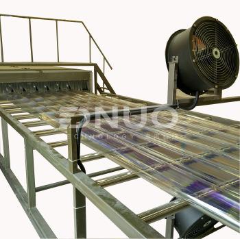 Lighting Roof FRP Sheet Making Machine Production Line