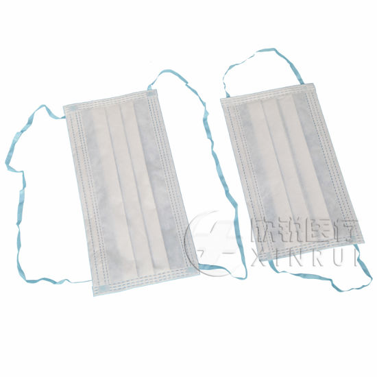 Disposable Clean Room Face Mask with Ear-Loop