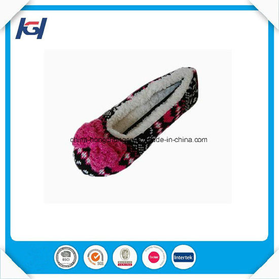 New Arrival Warm Soft Sole Indoor Slippers for Women pictures & photos