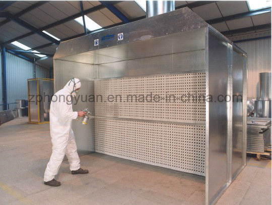 Small Size Spray Booth for Auto Parts