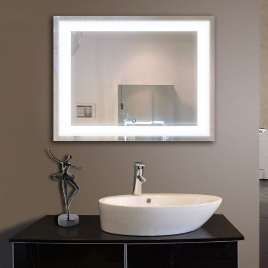Uk Wall Mounted Led Backlit Illuminated Bathroom Mirror