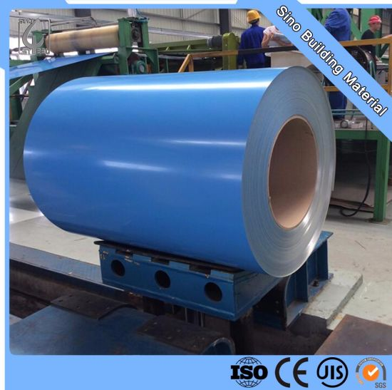 Ral 5017 PPGI Color Coated Prepainted Steel Coil