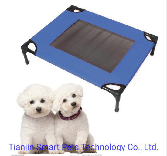 Summer Breathable Mesh Cool Large Elevated Pet Dog Cat Bed