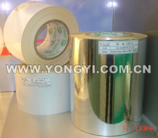 Self Adhesive Paper PVC Material pictures & photos