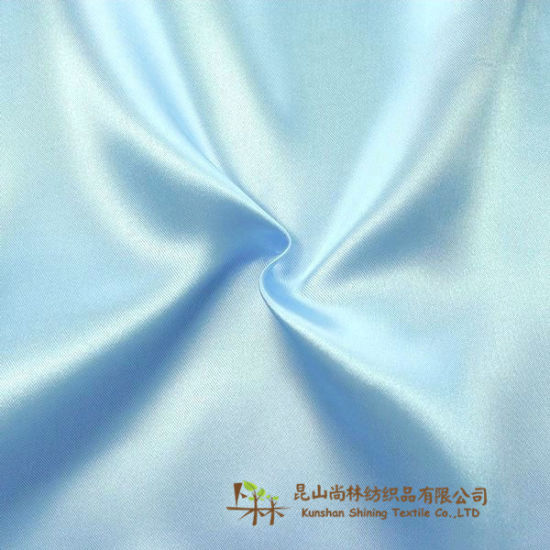 Soft Flowing Polyester Satin Fabric Suitable for Any Kind of Fashion and Decoration