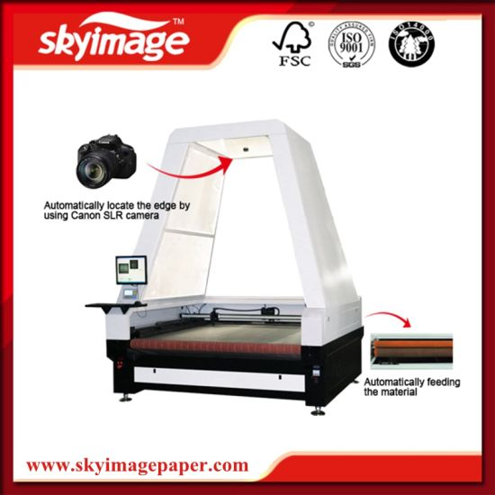 High Version Fy-1816 Auto Laser Cutting Machine for Fabric/ Leather/ Plastic pictures & photos