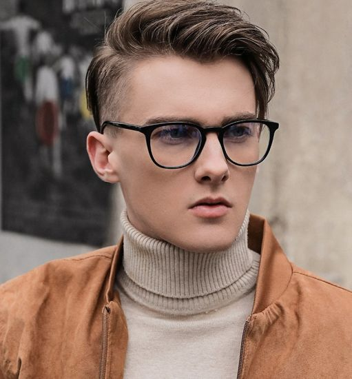 2020 Amazon Ebay Online Ready Stock Fashion Tr90 Reflex Radiate Anti Blue Computer Optical Glasses for Men
