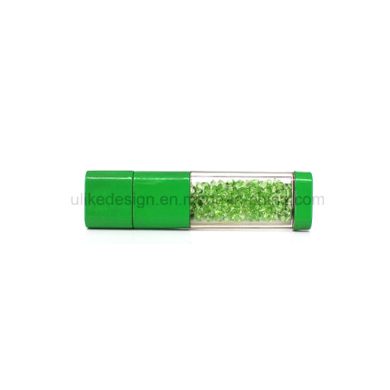 Varied Crystal Delicate USB Flash Drive Promotional Gift Giving USB Pen Drive/USB Stick