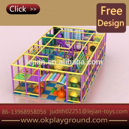 Feature Friendly Outer Space for Sale Daycare Centers Children Indoor Soft Playground Equipment
