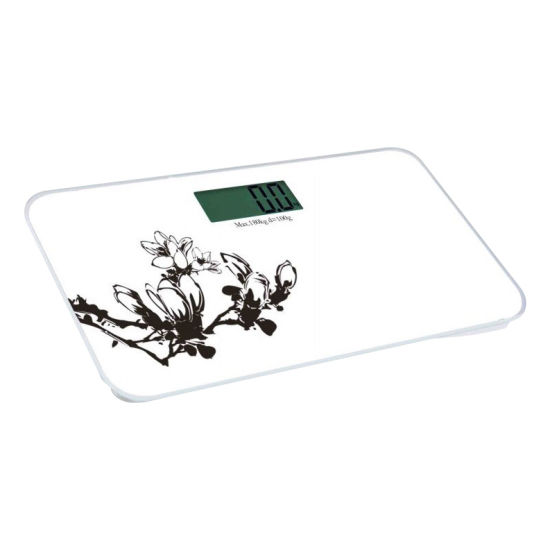 New Design Ultra-Thin Bathroom Scale pictures & photos