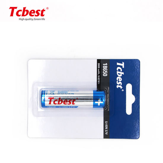 Icr18650 Lithium Ion Rechargeable Batteries with High Capacity Best Wholesale