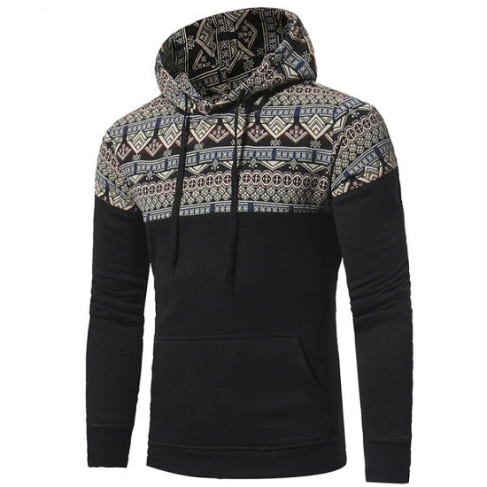 High Quality Custom Hoodie Printing Sports Men Wholesale Customized Hoodies with Logo pictures & photos
