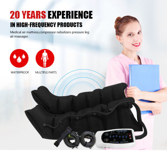 Physical Therapy Air Compression Leg Massager Recovery Boots