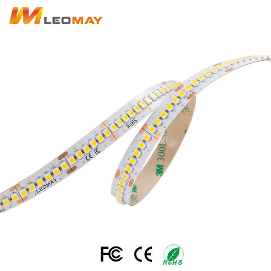 Super Brightness SMD3528 LED Strip CRI90+ 19.2W/m High LM/W pictures & photos