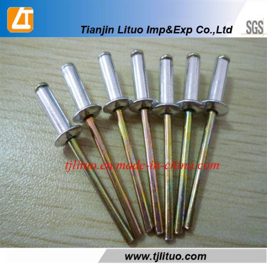 Steel POP Rivets ALL Steel Blind Rivet 3-2 3//32 x 1//8 Grip USA Made Qty 100