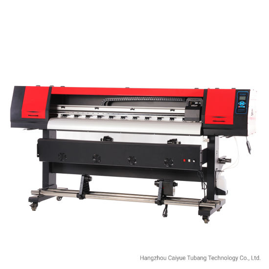 Single Head Digital Inkjet Eco Solvent Printer with Exterior Heater