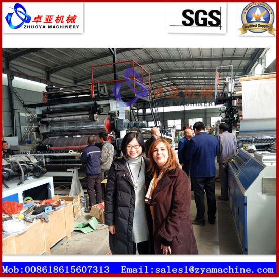 PVC Faux Imitation Marble Sheet Wall Panel Extrusion Machine pictures & photos