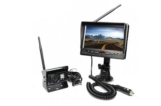 "7"" Dual Screen Wireless Commercial Vehicle Camera Systems pictures & photos"