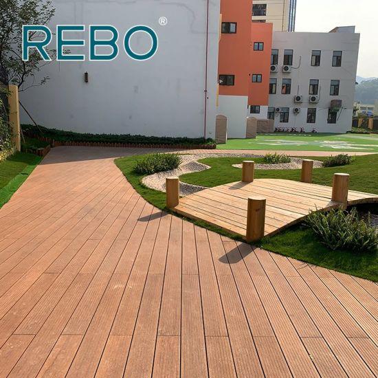 Balcony Laminate Bamboo Wood Flooring, Laminate Bamboo Wood Flooring