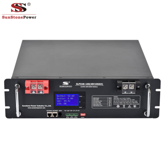 48V 100ah Lithium Solar Battery for The Sola Storage System