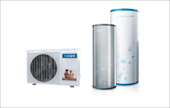 Air Source Heat Pump Water Heater for Family Use