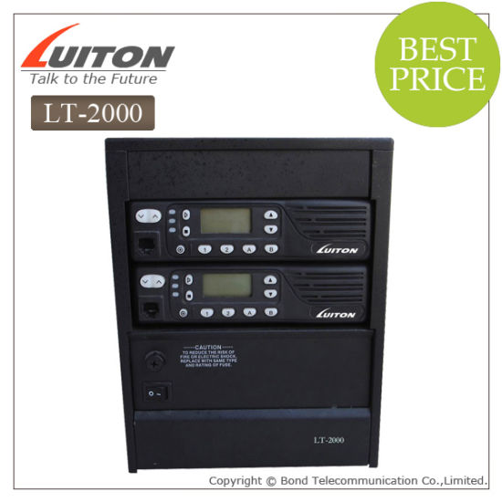 Luiton Lt-2000 VHF UHF Wakile Talkie Repeater pictures & photos