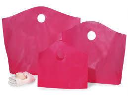 Wave Top Die Cut Handle Take-out Bags (Plain & Printed)