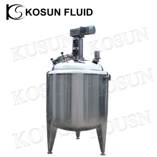 Stainless Steel Industrial Yogurt Mixing Fermentation Tank pictures & photos