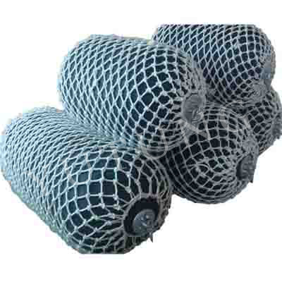 Pneumatic Boat Fender with Whitel Rope Net