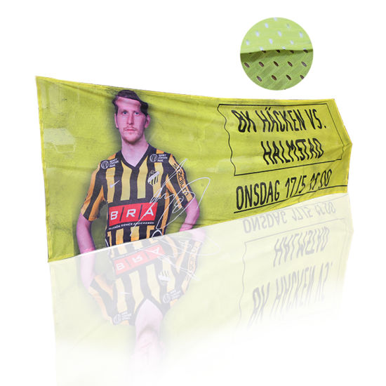 Outdoor Large Format Custom Mesh Fabric Polyester Banner