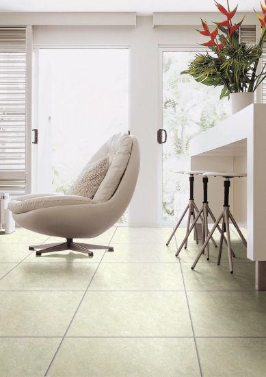 Polished Porcelain Glazed Vitrified Floor Tiles White DJ6503