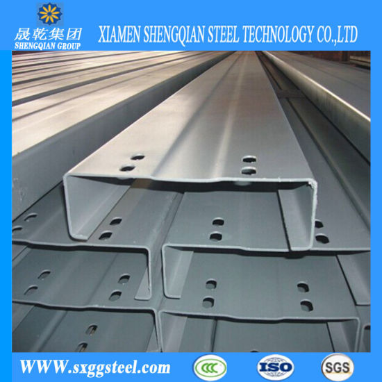 ASTM Galvanized C Channel Steel for Steel Construction pictures & photos