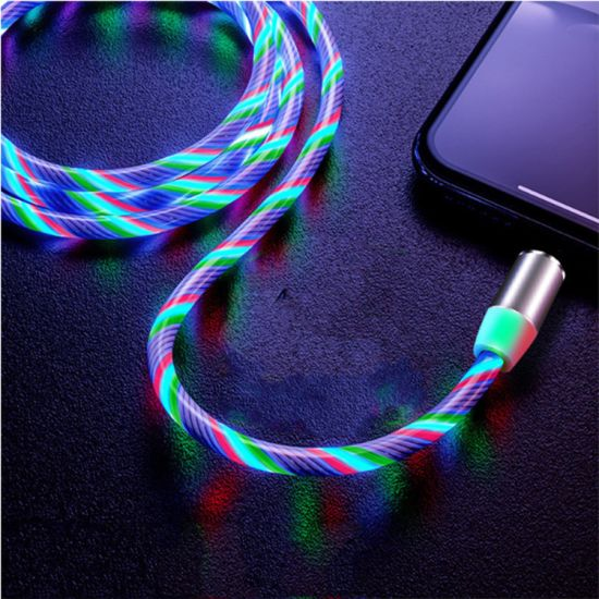 Light Up Charging Cable Lighting