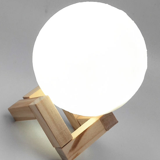 Touch Rechargeable Light Wall Room Decoration Moon Lamp