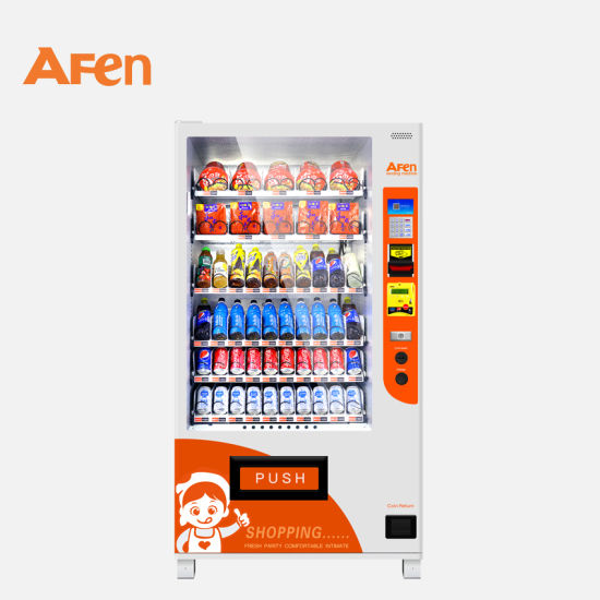 Afen Self Automatic Mini Drink Snack Vending Machine for Shopping Mall