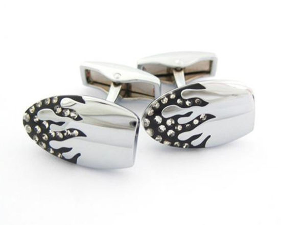 Custom High Quality Logo Womans Jewelry Cufflink Metal Tie Clip for Souvenir (YB-HD-06)