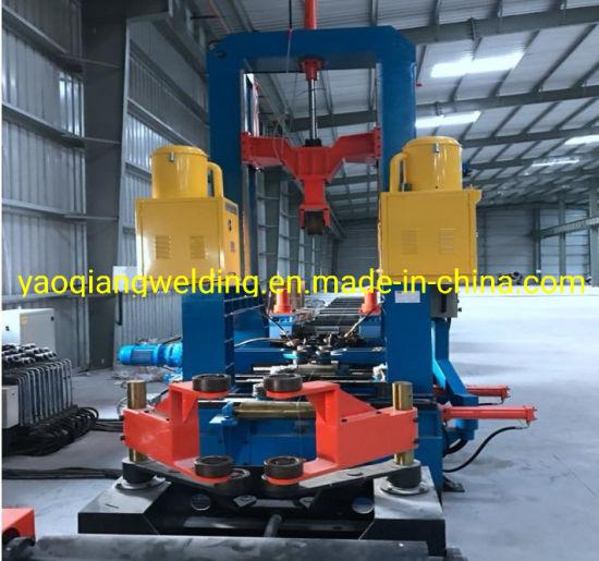 H Beam Welding Line 3 Function Assembling Machine Straightening Machine