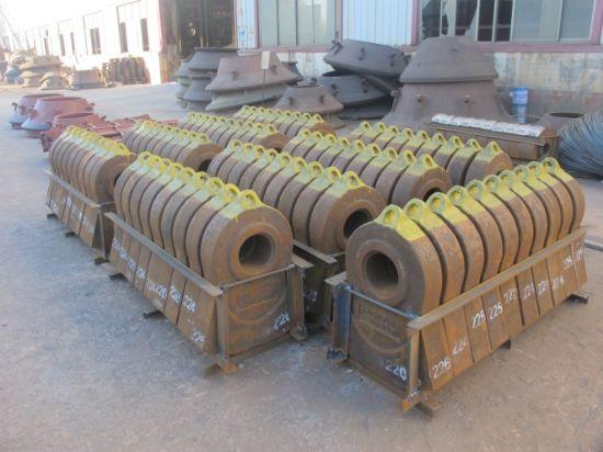 Impact Crusher Hammer Manganese Steel Resin Sand Casting