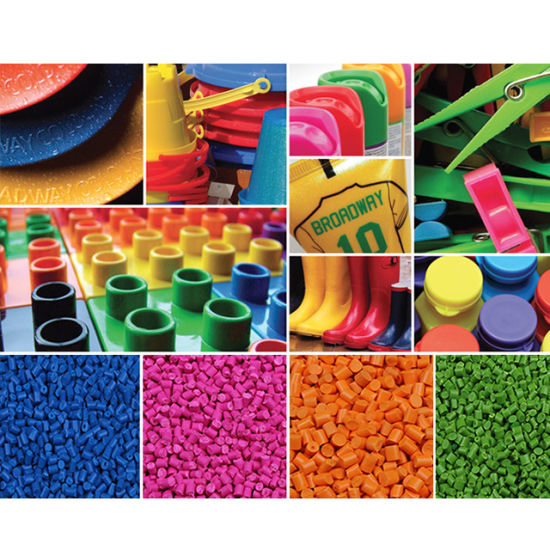 China Factory Direct Color Plastic PP PE Masterbatch Dyes for Bag