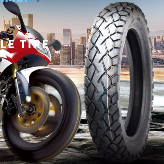 Factory Wholesale Motorcycle Tyres with 20, 000 Km Quality Guarantee Ds107