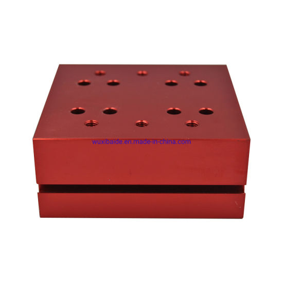 OEM CNC Machinery Aluminum Parts with Turning/Milling/Drilling